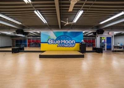 Group Fitness at Blue Moon Fitness Gym in North Omaha