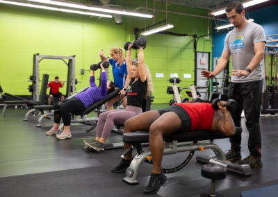 Group Training at Blue Moon Fitness Gym in North Omaha