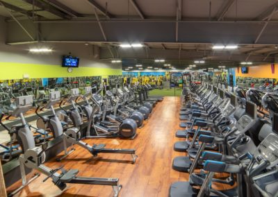 Plenty of Cardio Machines at Blue Moon Fitness Gym in South Omaha