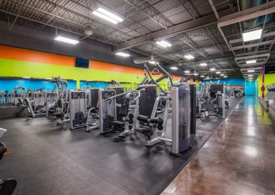 Strength Training Equipment at Blue Moon Fitness Gym in Central Omaha